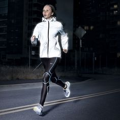 Nike's new reflective running jacket for when you run at night