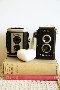 Vintage camera love....