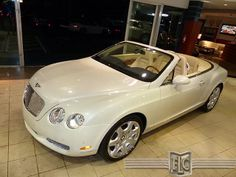 Download and view the brochure for this 2008 Bentley Continental GTC Convertible at: http://fortlauderdale-south.ebizautos.com/detail-2008-bentley-continental_gt-2dr_conv-used-11444802.html  This elegant Bentley Convertible includes top quality leather and real wood trim, a fully automatic soft top, power seats with memory and heat, programmable gate / garage opener, parking sensors, GPS Navigation system, CD changer, Bluetooth connectivity and much, much more.