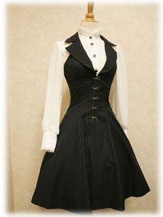 steampunk bridesmaid dresses | Steampunk Dress by charlotte.babb