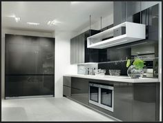 Black Modern Kitchen Ideas