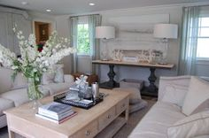 Habitually Chic®: Hampton Designer Showhouse: Pool House by Lillian August