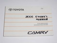2007 toyota 4runner owners manual book guide owners manuals rh pinterest com 1994 camry owners manual pdf free 1994 camry owners manual pdf free