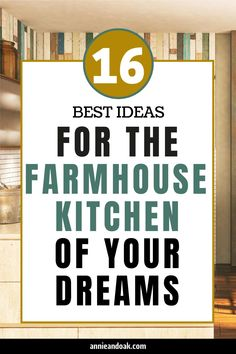 Read Annie and Oak's 16 Ideas for the Farmhouse Kitchen of Your Dreams post to discover top farmhouse kitchen hacks. Match your creative ideas to our handpicked tips and inspirations to build the ultimate farmhouse kitchen that will surely hype up your typical kitchen experience. So, roll up your sleeves and prepare to take down some notes as we unveil the best ideas to up-tier your farmhouse kitchen. Visit us at annieandoak.com for more tips and ideas in setting up your farmhouse kitchen. Farmhouse Sink Kitchen, Modern Farmhouse, Farmhouse Style, Farmhouse Decor, Kitchen Hacks, Kitchen Ideas, Honeycomb Tile, Fire Clay, Butcher Block Countertops