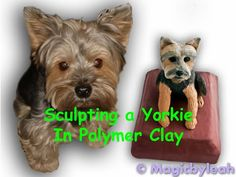 Sculpting Bodewell the Yorkie - Mini Dog in Polymer Clay - YouTube