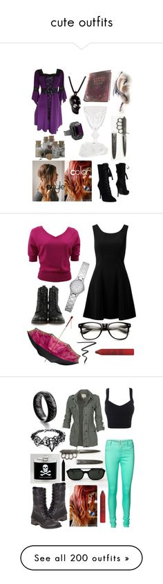 """""""cute outfits"""" by karmawilliams ❤ liked on Polyvore"""