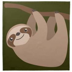 Cute Three-Toed Sloth