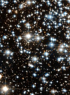 The Hubble Space Telescope images the faintest stars ever seen in an ancient star cluster, revealing that a bona fide star must be as massive as about 80 Jupiters Cosmos, Globular Cluster, Hubble Images, Star Cluster, Hubble Space Telescope, Foto Art, To Infinity And Beyond, Deep Space, Space Space