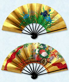 Japanese Colors, Japanese Art, Japanese Beauty, Hand Held Fan, Hand Fans, Whatsoever Things Are Lovely, Sitting Room Decor, Chinese Fans, Antique Fans