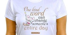 What kind word will you say today?