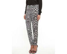 Kardashian Kollection Snow Leopard Pants