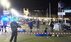 """Bodies lay across the promenade in Nice A terrorist drove a 19-tonne truck 1.3 miles along a promenade """"zig-zagging"""" and firing a gun to try to maximise fatalities during a Bastille Day celebration on the seafront.  ISIS have reportedly claimed responsibility for the attack, and witnesses said the man was shouting """"Allahu Akbar"""".   World leaders have condemned the attack and sent messages of condolence to France and telegrams to French President Francois Hollande.  But Russia has said it i"""