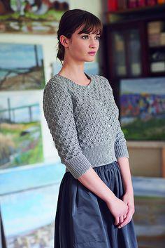 Ravelry: Tenzin pattern by Marie Wallin Vintage Knitting, Hand Knitting, Knitting Patterns, Vogue Knitting, Loom Knitting, Vintage Crochet, Stitch Patterns, Crochet Patterns, Cardigan Sweaters For Women