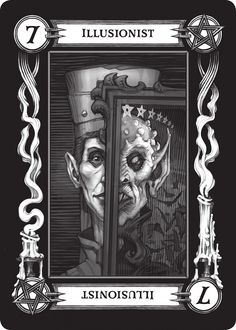 """One of the new Tarokka cards that will be released with D&D's """"Curse of Strahd."""" Full list of the Ravenloft cards here: http://www.enworld.org/forum/showthread.php?475697-This-is-the-full-set-of-54-Tarokka-cards!"""
