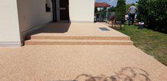 Steinteppich auf Terrasse Blog, Stones, Blogging