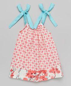 Another great find on #zulily! Pink Poppy Tie Dress - Toddler & Girls #zulilyfinds