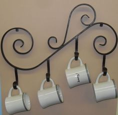 Wrought Iron Custom Design Cup Holder / Wrought Iron Special Design Cup Holders- Ferforje Özel Tasarım Bardaklık / Wrought Iron Special Design Cup Holders WhatsApp Support: 0536 920 4926 – 0532 643 3682 E-Mail: -