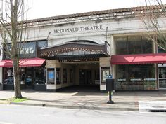 McDonald Theatre is a theater and music venue in Eugene, Oregon, United States. Opened in 1925 as a movie house, the building was converted to a theater for performing arts, and is still in business. The theater is listed on the National Register of Historic Places.