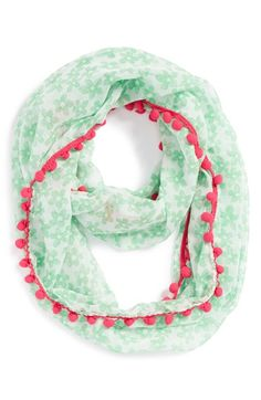 a3c7a7f7cdea7c Tucker + Tate Pompom Print Scarf (Girls) available at  Nordstrom Tucker  Tate
