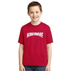 Rest In Peace Harambe Youth T-shirt