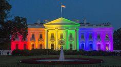 La Casa Blanca, a todo color para celebrar el matrimonio igualitario #LoveWins http://befamouss.forumfree.it/?t=70997519