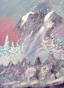 Storm on Thunder Mountain by Earl Biss