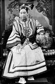 The Empress Dowager Cixi:  was a powerful and charismatic woman who unofficially but effectively controlled the Manchu Qing Dynasty in China for 47 years, from 1861 to her death in 1908.  Was a Concubine who worked her way to Empress. Cunning and cut throat, I have a weird obsession with her. Her ruthlessness is interesting to study.