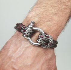 Bracelet masculin nautique voile Bracelet par ZEcollection sur Etsy