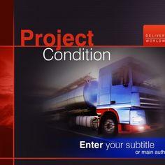 Trucking  Corporate identity Template