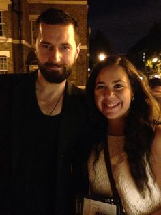 Richard Armitage and Crucible fan Tuesday July 29, 2014