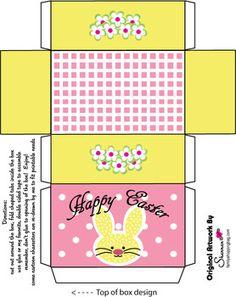 Box 2, Easter, Favor Box - Free Printable Ideas from Family Shoppingbag.com