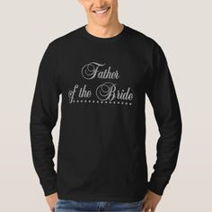 Father of Bride Gray Elegance T-Shirt