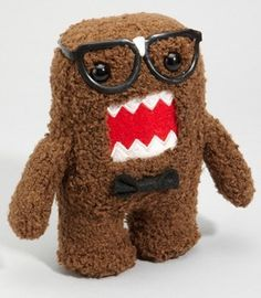 nerd domo. glasses. bow tie.