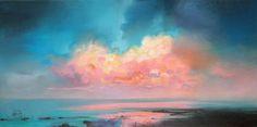 Взрыв цвета среди облаков: шотландские пейзажи Scott Naismith - Ярмарка Мастеров - ручная работа, handmade