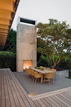 Curate your own private oasis with the top 60 best outdoor patio ideas. Discover cool backyard lounge and dining area designs from traditional to modern. Small Backyard Patio, Modern Backyard, Backyard Patio Designs, Backyard Retreat, Modern Landscaping, Backyard Landscaping, Patio Ideas, Diy Patio, Balcony Ideas