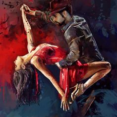 "isadorajoshua: ""The Last Tango ~ Marius Markowski "" Dance Pictures, Pictures To Paint, Art Pictures, Painting Pictures, Ballroom Dance Dresses, Ballroom Dancing, Swing Dancing, Tango Art, Tango Dancers"