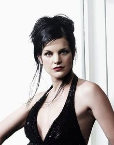 Pauley Perrette (NCIS) my pic for Isadora in my books