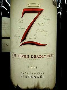 Michael David The Seven Deadly Zins Zinfandel 2013   Wine Info