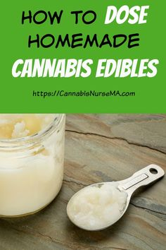Learn how to dose your homemade cannabis edibles #cannabisedibles #cannabisnursema Cannabis Edibles, Medical, Medical Doctor, Medicine, Med School, Medical Technology