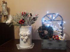 Snow Globes, Glass Vase, Home Decor, Homemade Home Decor, Decoration Home, Interior Decorating