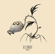 If Pokemon Were Drawn by Tim Burton…