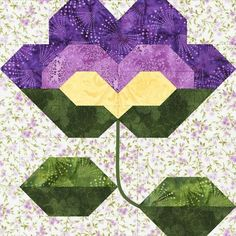 violet block