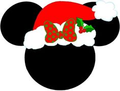 mickey and minnie mouse christmas antlers christmas mickey heads