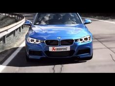 BMW F30 335i with Akrapoviс Evolution exhaust system