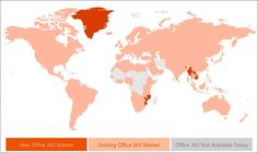 Microsoft drives a substantial share of its revenue from Office sales. As such, the company focuses more on growing Office 365 availability. In pursuit of this objective, Microsoft announced Office support for 10 more countries. The number brings the total from 140 to 150 markets, with support for 44 languages.