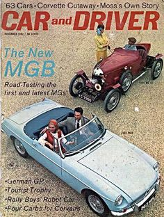 62 cover   Old Numer 1 & MG B