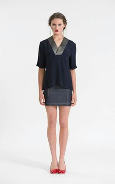 Skipper tunic. 3 necklines + variations.