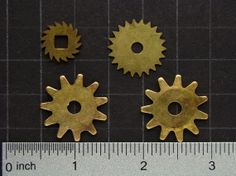 Steampunk Supplies vintage brass clock by SteampunkArtSupplies, $7.95  #steampunk #artsupplies