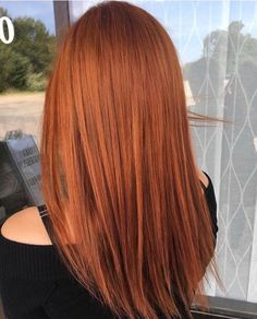Ginger Hair Color Hair Informations About Ingwer Haarfarbe Red Copper Hair Color, Ginger Hair Color, Hair Color Auburn, Color Red, Ginger Hair Dyed, Auburn Hair Copper, Light Copper Hair, Bright Red Hair, Ombre Hair