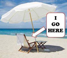 Beach...I go here!
